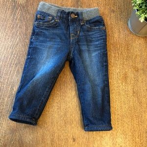 Gap Flannel-lined Snap closure Jeans